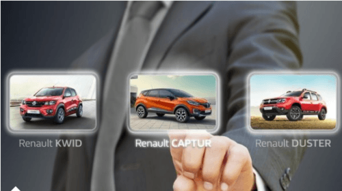 Visit the Renault Experience Centre via Manas Sharma