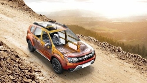 World Class safety by Renault DUSTER via Manas Sharma