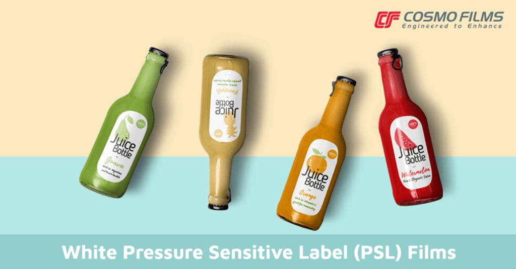 White Pressure Sensitive Label (PSL) Films via Cosmo Films