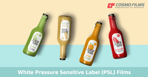 White Pressure Sensitive Label (PSL) Films via Cosmo Films
