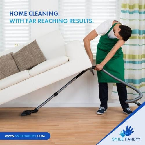 House Cleaning Services Abu Dhabi via Smile Handyy