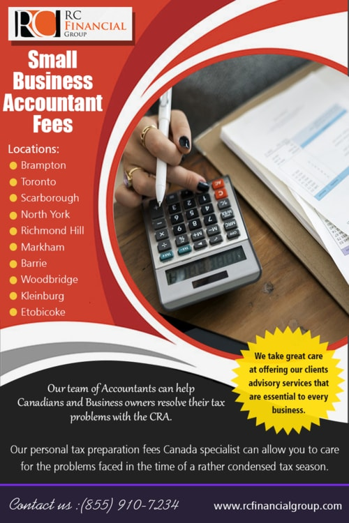 Small Business Accountant Fees via Rc Financial Group