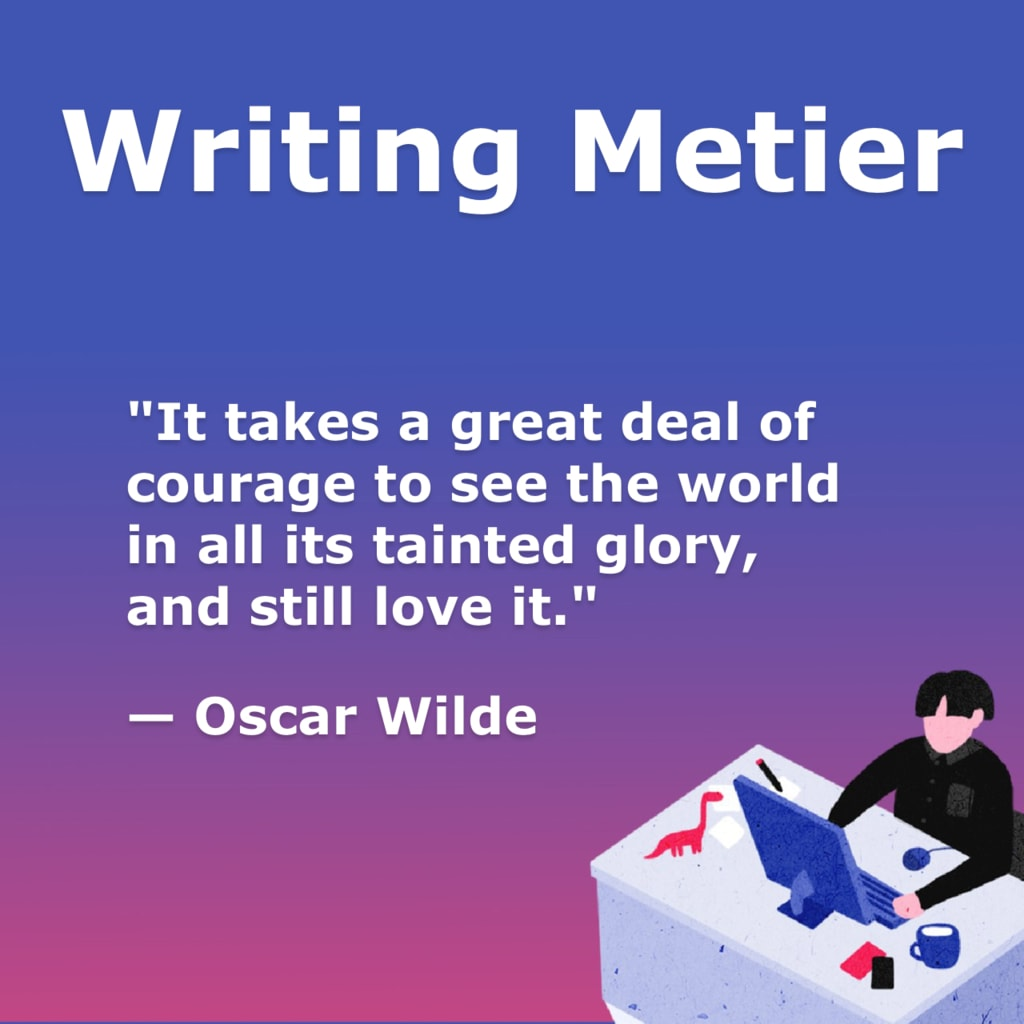 """""""It takes a great deal of courage to see the world in all it... via Writing Metier"""