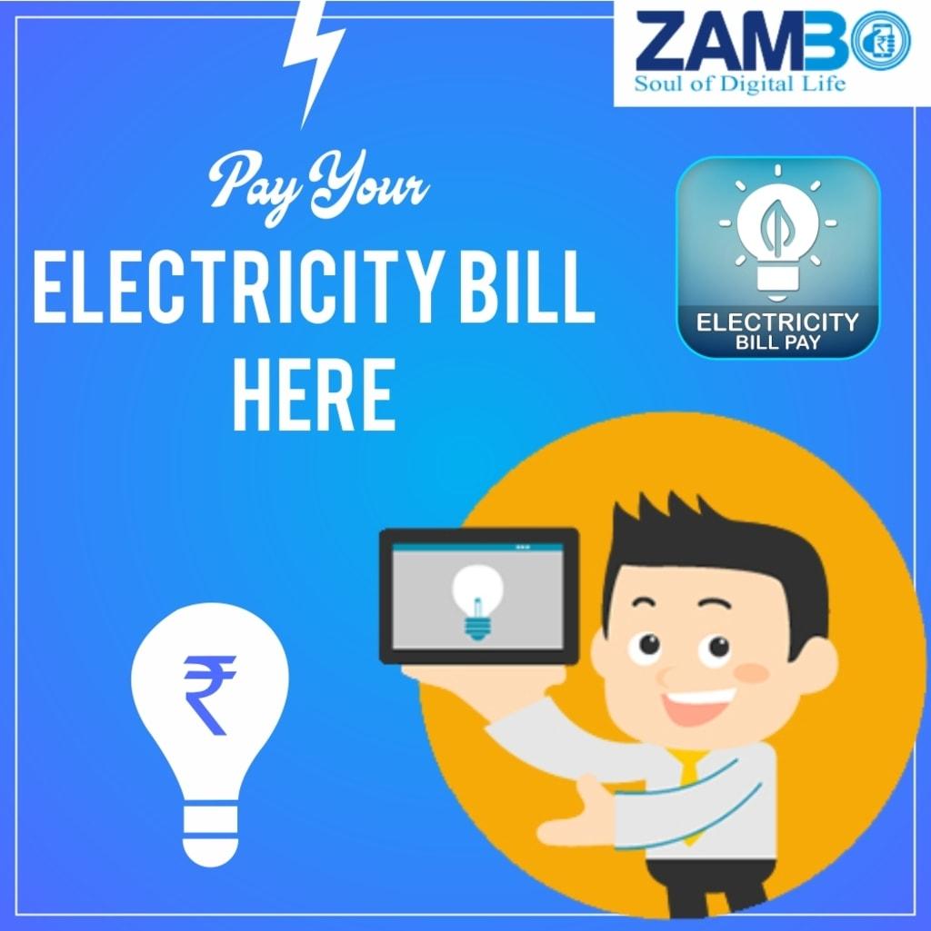 ELECTRICITY BILL PAYMENT via Zambo Technology