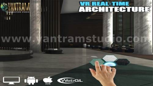 VR Real Time Application and 360 panoramic of virtual realit... via Yantram Studio