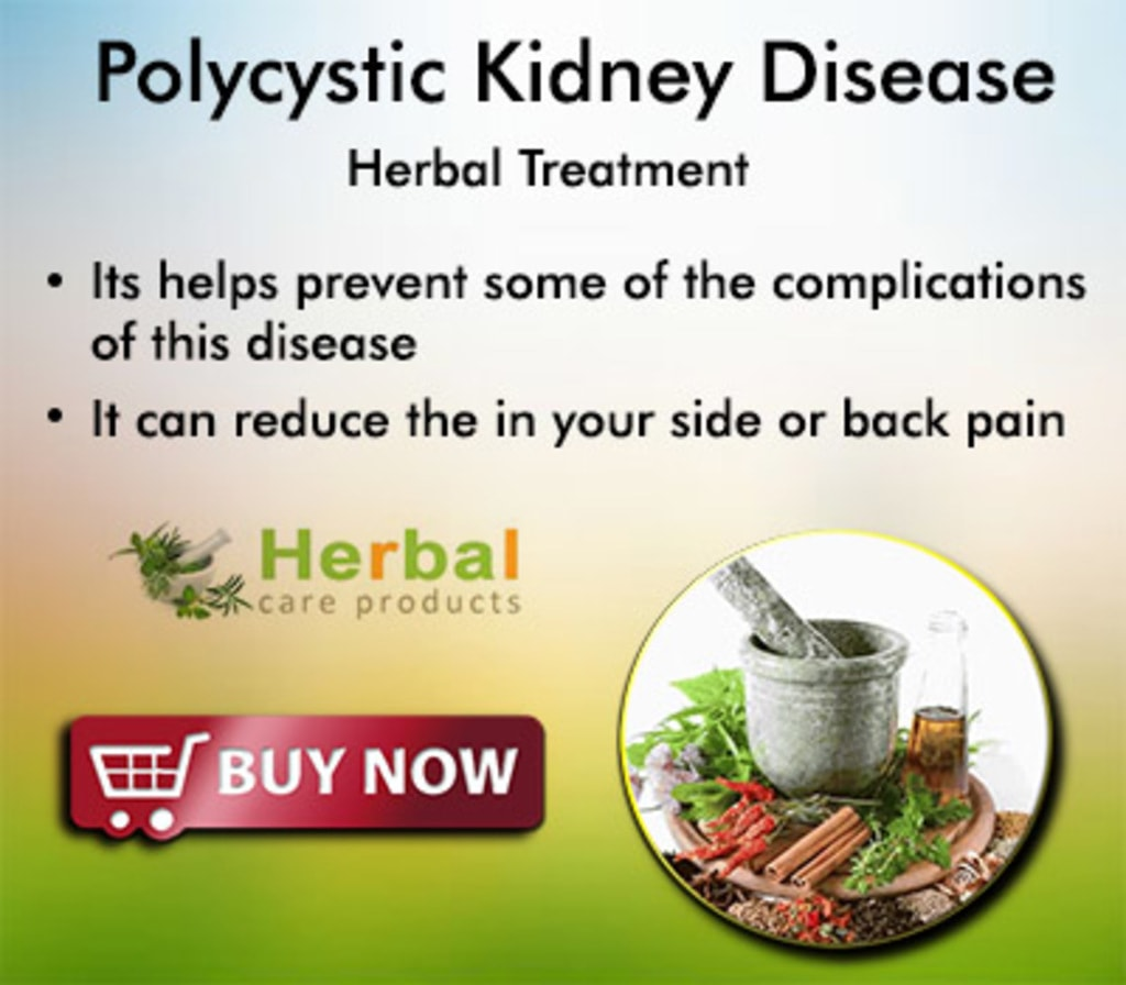Natural Remedies for Polycystic Kidney Disease via Herbal Care Products