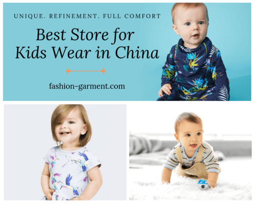 Best Store for Kids Wear in China via Fashion Garment Limited