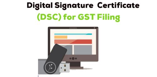 Digital Signature for Gst via Matheiu Robine