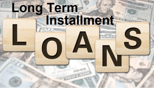 Long Term Installment Loans For Bad Credit via Allison Arlen