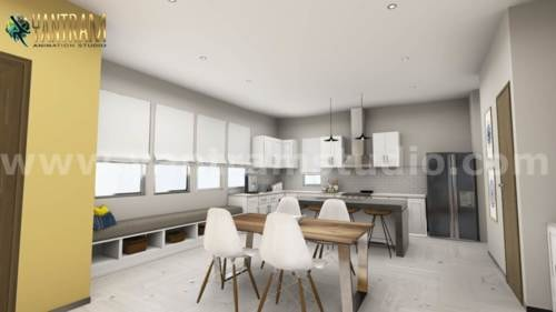 Explore Your New Kitchen Design in Virtual Reality with Yant... via Yantram Studio