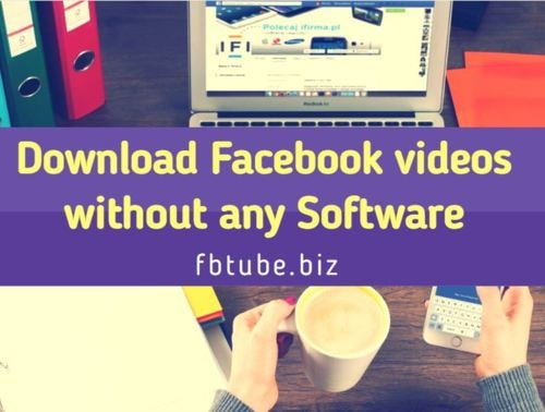 Download Facebook videos without any Software via Youtube2video