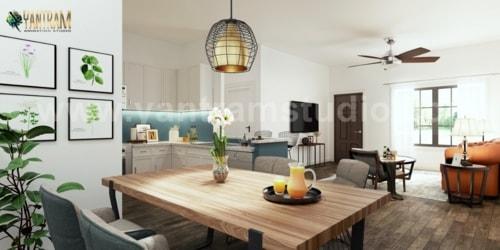 Having a large #kitchendesignideas is multi-functional; givi... via Yantram Studio
