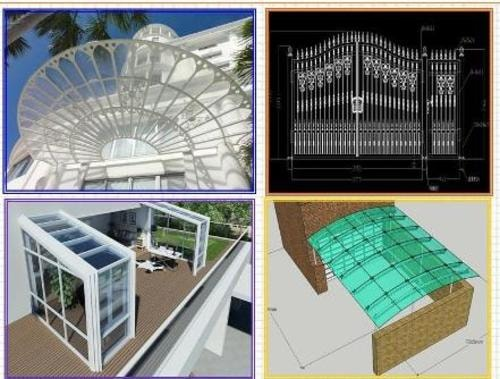 Find Architectural Fabrication Services at Amber Imp-Ex Corp... via Lukas Brown