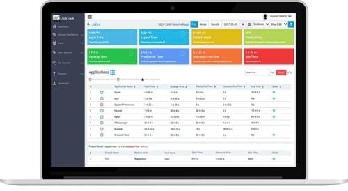 DeskTrack Software via TimenTask