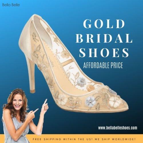Designer Wedding Shoes via bellabelleshoes