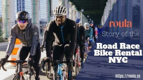 Nyc Road Bike Rentals via Ronnie Brown