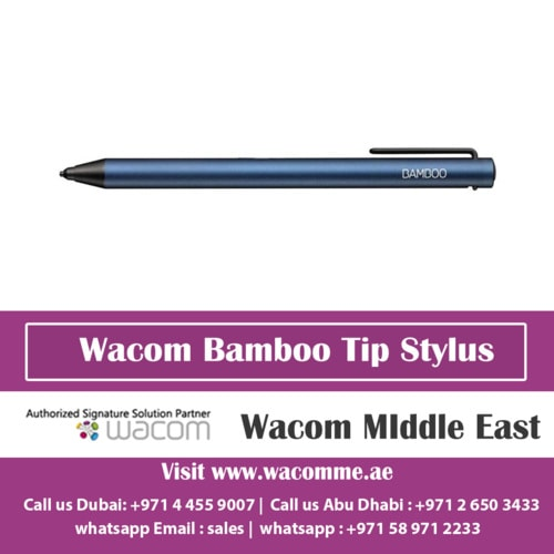 Wacom Bamboo Tip Stylus is compatible with Android and iOS | Wacom Middle East