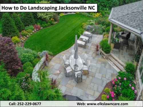 Steps of Cheap Home Landscaping Jacksonville NC