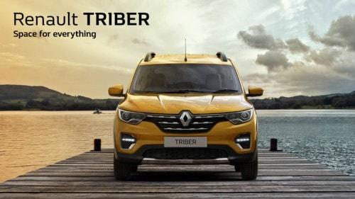Brand Renault reveals its new car – The Renault TRIBER via Manas Sharma