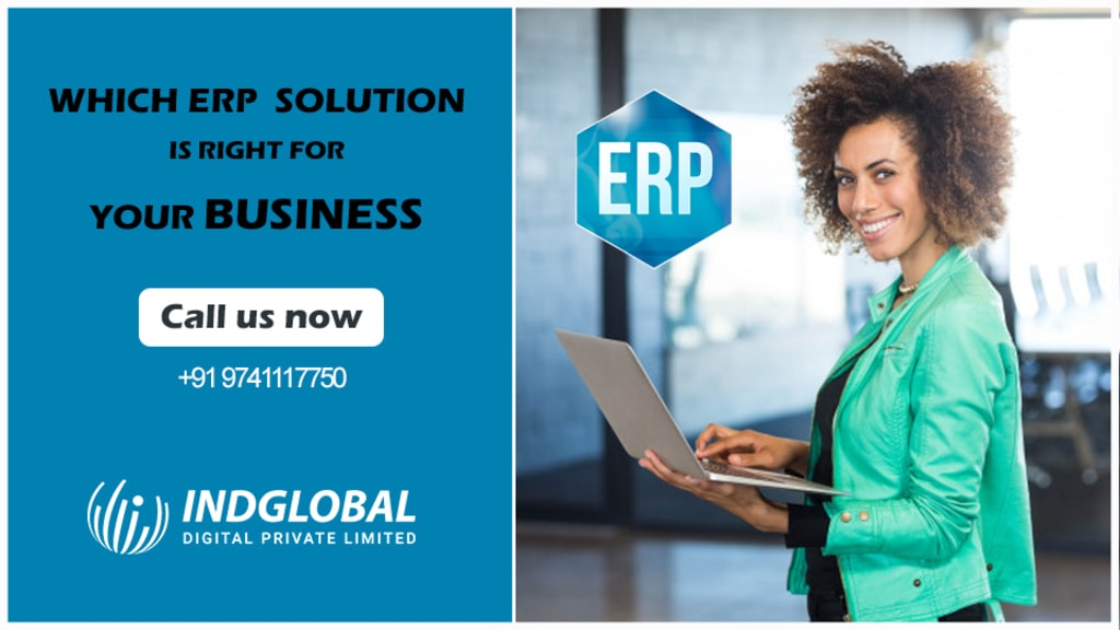 ERP Software Development Company via Indglobal Digital Private limited