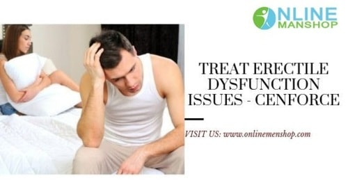 Erectile dysfunction can be treated easily by using Fildena and Cenforce