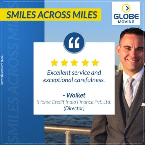 Clients Speak via Globe Moving