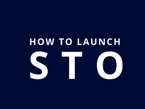 How To Launch STO ? | STO Consulting Services