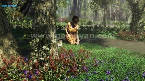 Leyfa character posing lighting animation by 3D Production A... via Gameyan