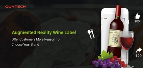 Augmented Reality Wine Label: Offer customers more reason to choose your brand - Quytech Blog