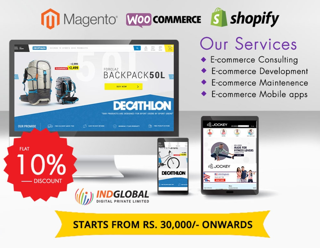 Shopping is complex today. Let us make it a lot easier with ... via Indglobal Digital Private limited