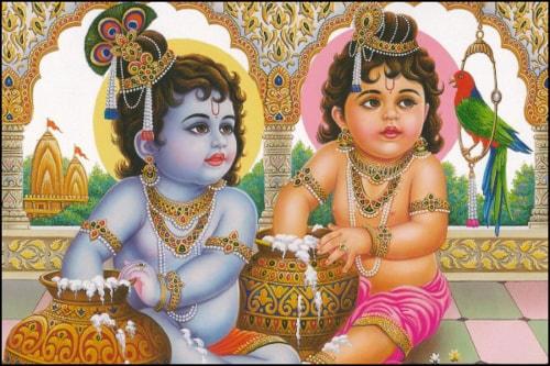 Krishna Janmashtami via Ishani