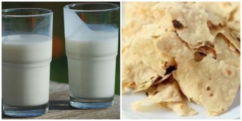 Stale Roti Benefits in Hindi                                     ताजी रोटी के मुकाबले बासी #रोटी... via Ishani