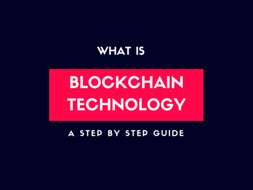 What is Blockchain Technology ? A Beginners Guide - Bitdeal