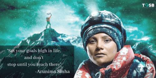 Outstanding Speaker - Arunima Sinha via TOSB
