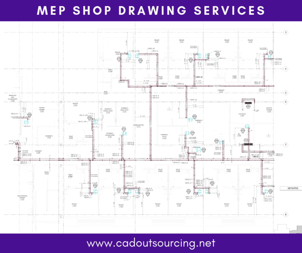 Get best MEP Shop Drawing Services in Tennessee via CAD Outsourcing
