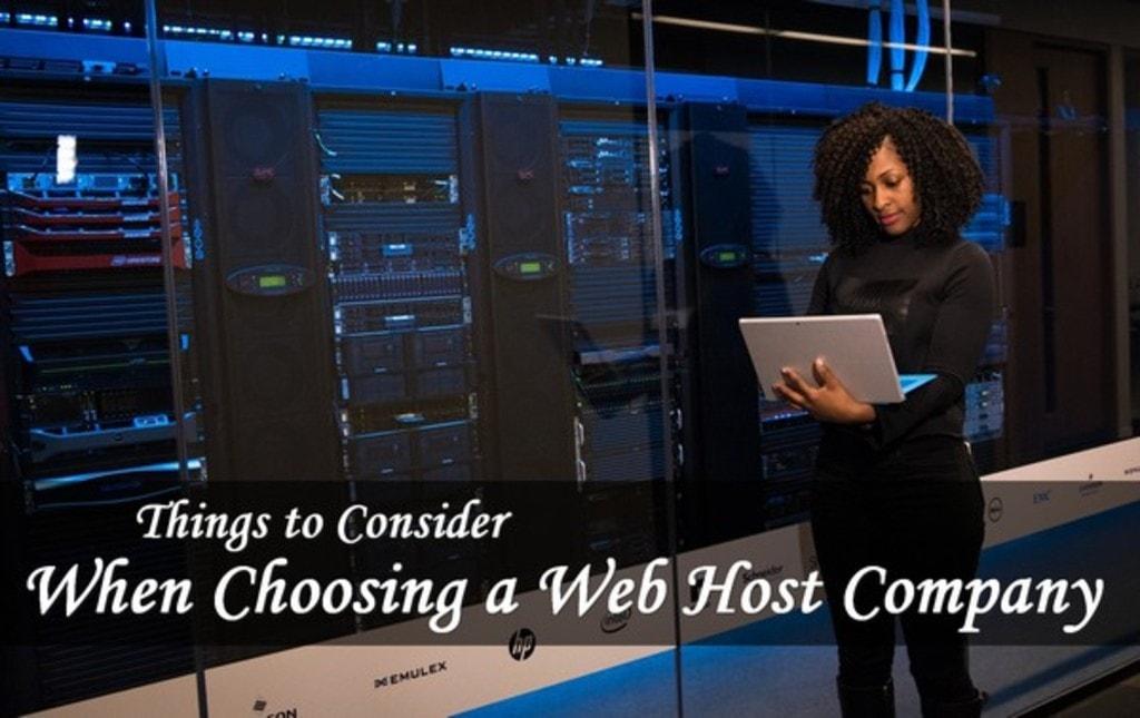 Things to Consider When Choosing a Web Host Company   Modern... via Amit Verma