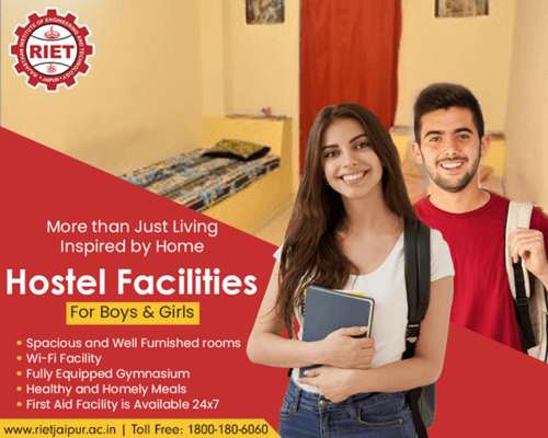 Hostel Facilities at RIET Jaipur via RIET Jaipur