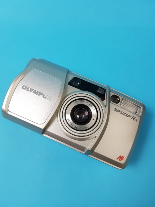 Olympus Superzoom 76s #Olympus #pointandshoot #camera #compa... via Photo And Tips