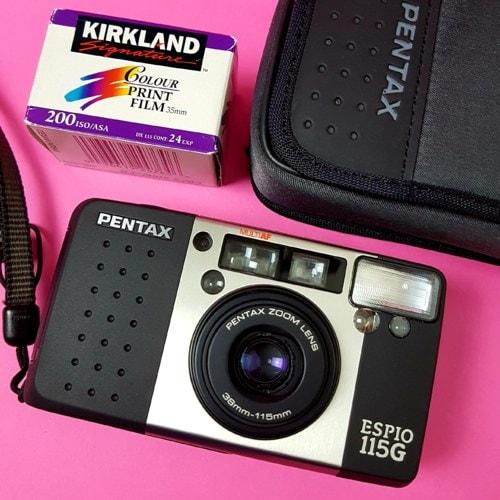 Pentax Espio 115G #pentax #camera #pointandshoot #filmcamera... via Photo And Tips