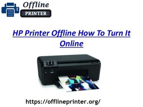 HP Printer Offline How To Turn It Online via Jack Smith