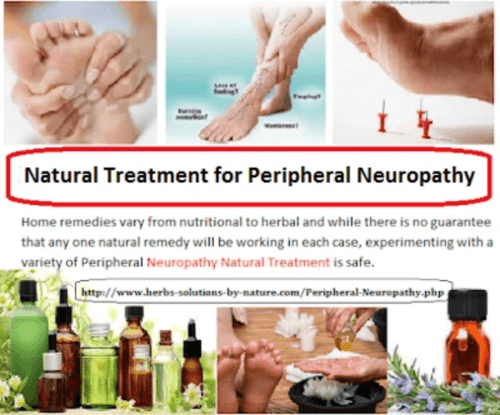 Natural Remedies for Peripheral Neuropathy Relief from Painful Symptoms