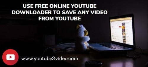Use Free Online Youtube Downloader To save any video from Yo... via Youtube2video
