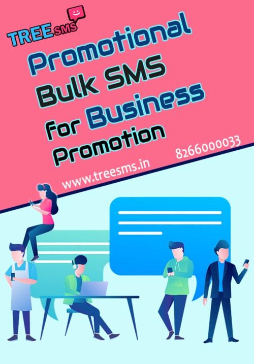 Promotional Bulk SMS Service Provider via Tree Multisoft