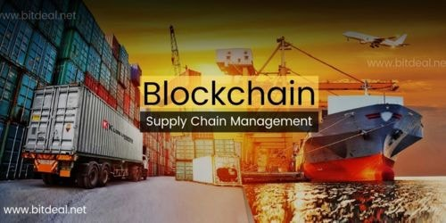 Blockchain in SCM   How Blockchain Works In SCM ? - Bitdeal