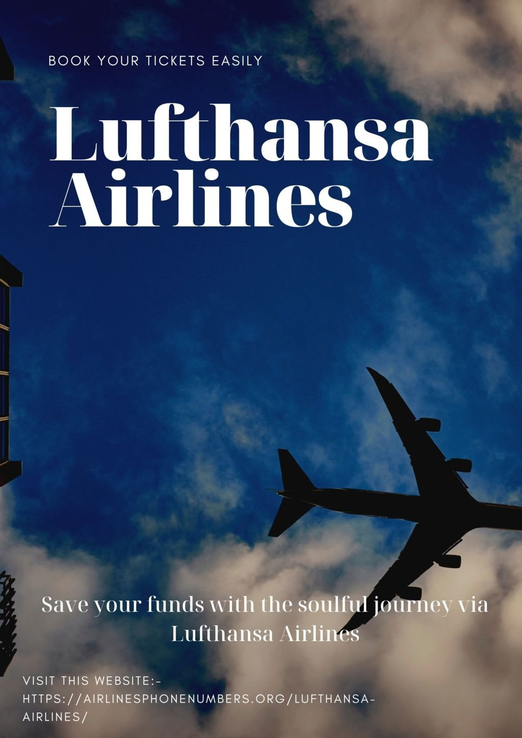 Save your funds with the soulful journey via Lufthansa Airli... via Harry Thomas