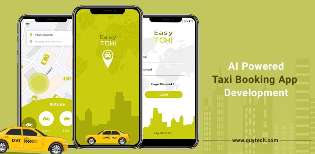 AI powered Taxi Booking app development via colleenjansen
