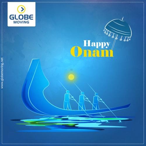 Happy Onam! via Globe Moving