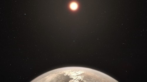 Scientists Find Evidence of Water on Potentially Habitable 'Super-Earth'