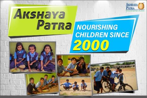 Akshaya Patra's journey of nourishing children via Akshaya Patra