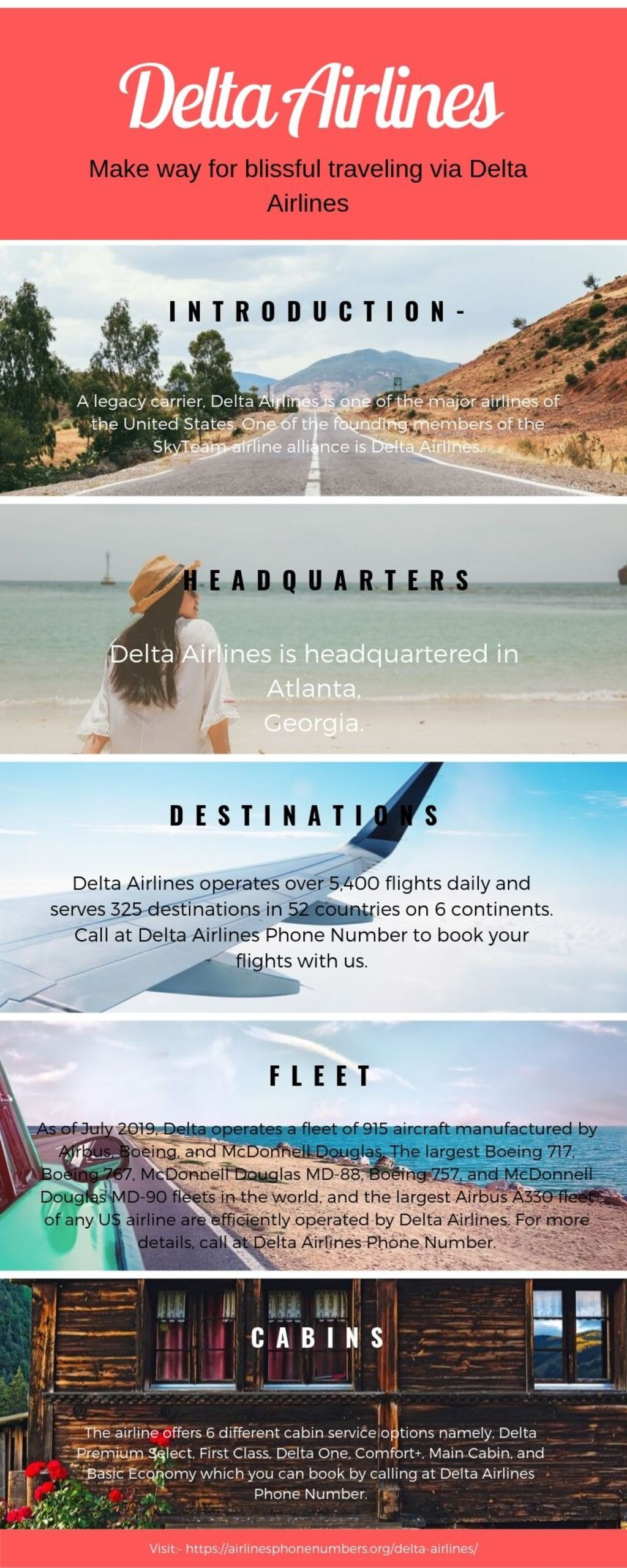 Make way for blissful traveling via Delta Airlines via Harry Thomas